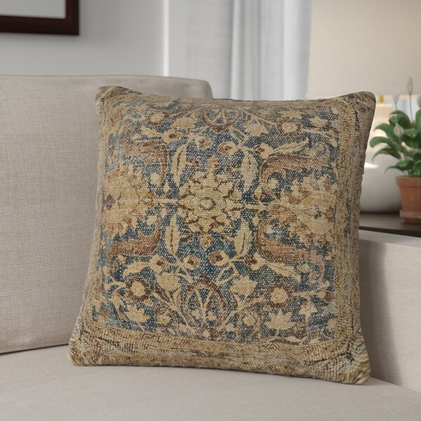 Binder 100% Cotton Throw Pillow by Fleur De Lis Living